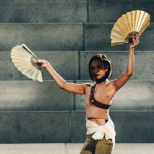 Fan Dancing, image courtesy of Bo Fajardo
