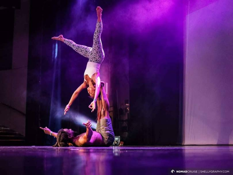 Acro Flow on the Nomad Cruise